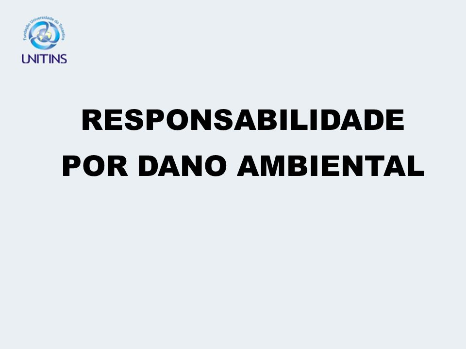 RESPONSABILIDADE POR DANO DECORRENTE DAS RELAÇÕES DE CONSUMO