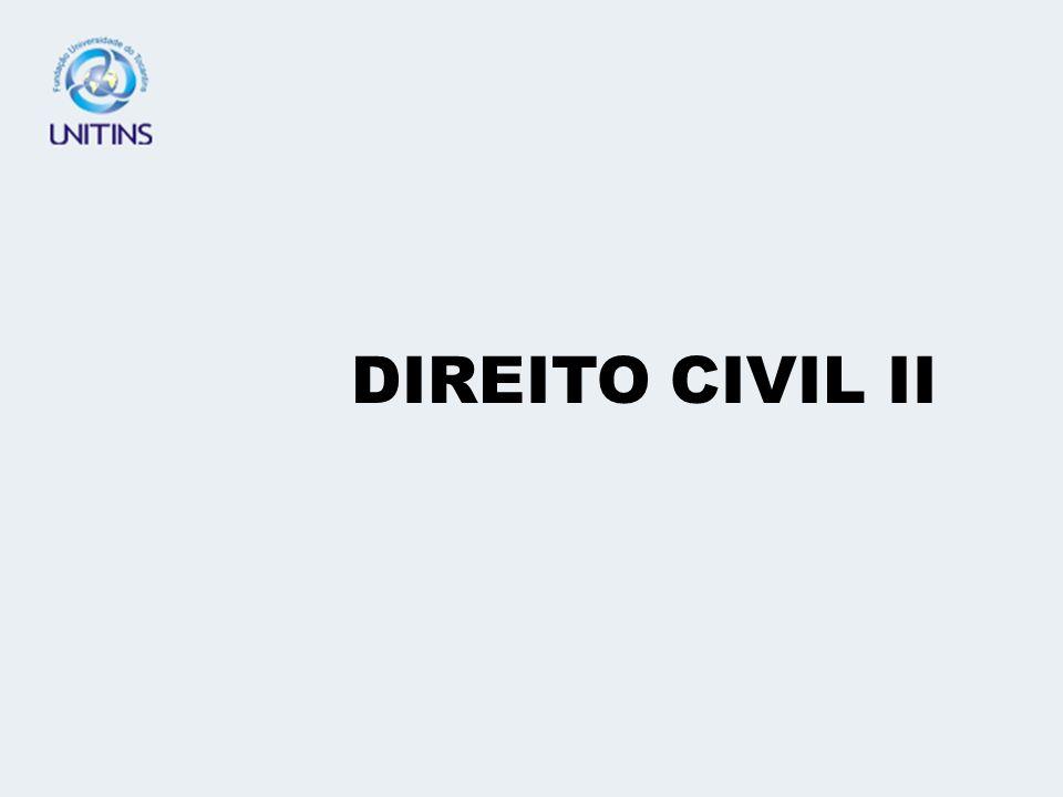 DIREITO CIVIL II