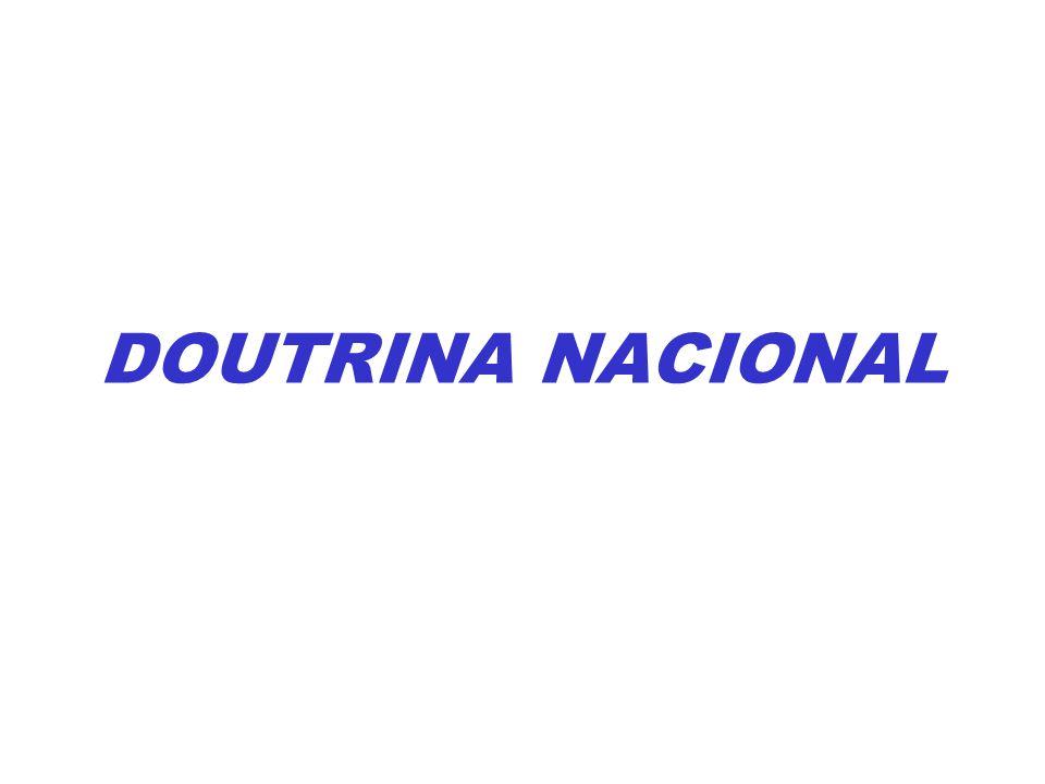 DOUTRINA NACIONAL