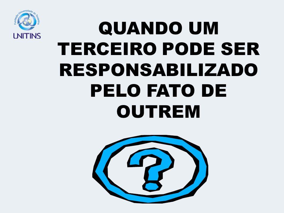 RECORDANDO... FUNDAMENTO DA RESPONSABILIDADE CIVIL SUBJETIVA E OBJETIVA CULPA PRESUMIDA