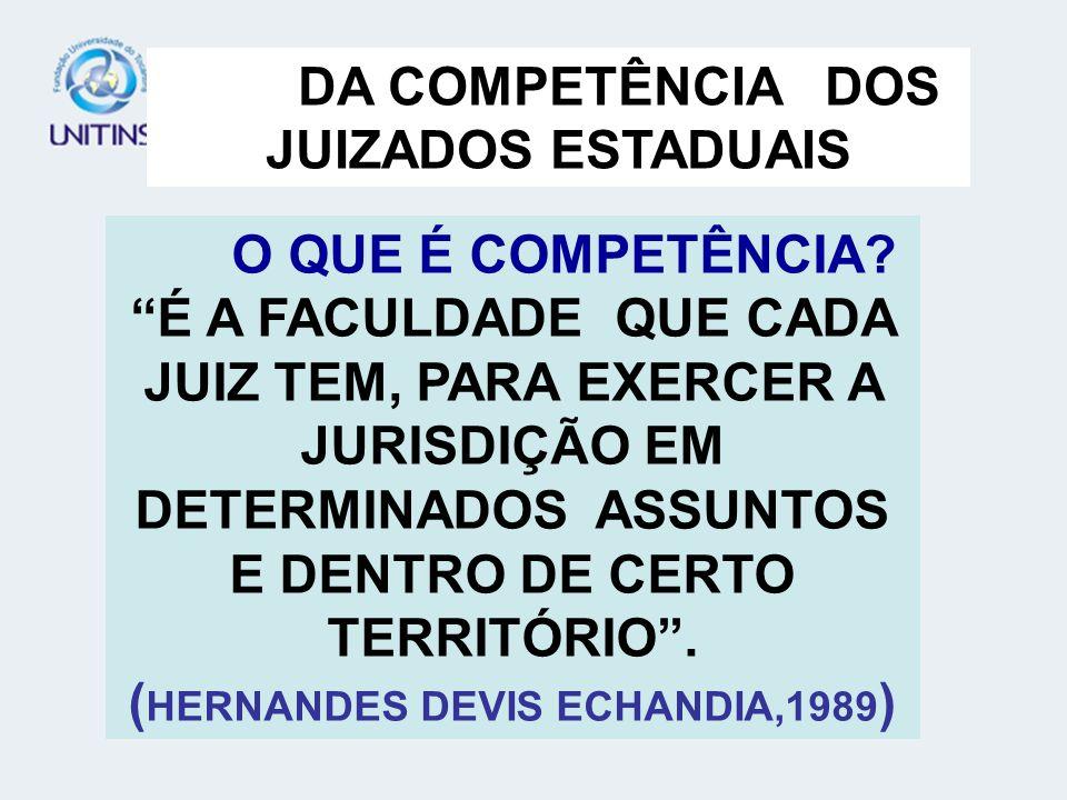 ARTIGOS 3º E 4º LEI 9.099/95 D DA COMPETÊNCIA FUNDAMENTAÇÃO