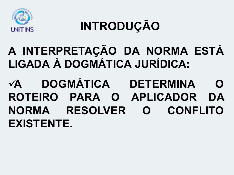 INTERPRETAÇÃO RESTRITIVA QUANDO OCORRE: QUANDO A LEI DIZ MAIS DO QUE DEVERIA NUNES (2005, p.