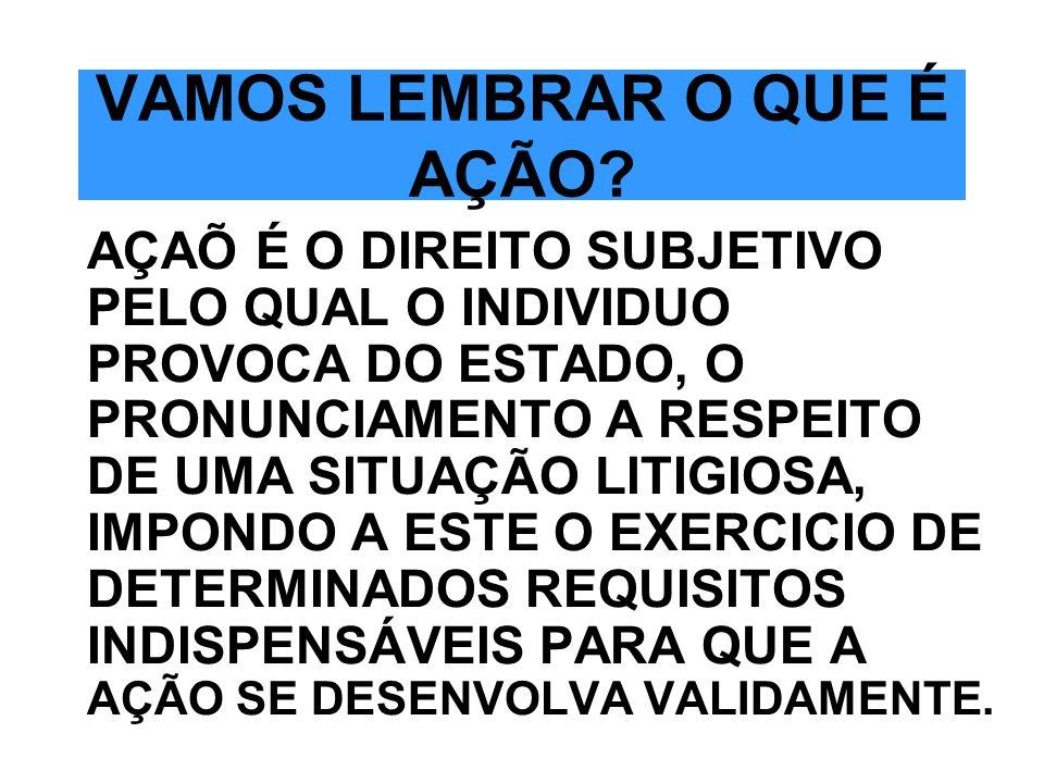 SUJEITOS PRINCIPAIS SÃO ASSIM DENOMINADOS PORQUE INTEGRAM A RELAÇÃO PROCESSUAL-SÃO ELES: A)O ESTADO-JUIZ, SUJEITO IMPARCIAL, COMANDANTE DO PROCESSO; B)AS PARTES-SUJEITOS PARCIAIS, ATIVO (AUTOR) E PASSIVO (RÉU).