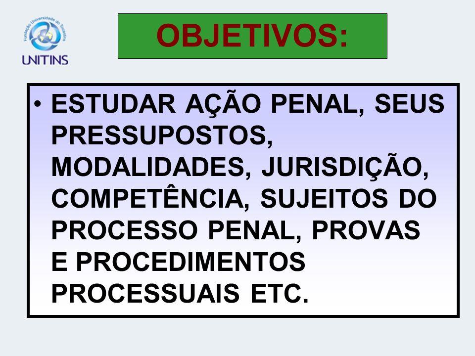 COMO MATÉRIA DE DIREITO PENAL, A AÇÃO PENAL ESTÁ PREVISTA NO CODIGO PENAL (ART.100) E NO CÓDIGO DE PROCESSO PENAL (ART.