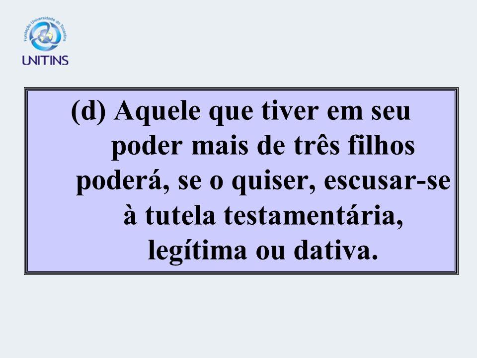 (b) No Brasil, é inadmissível que pessoa, em pleno gozo de suas faculdades mentais, mas portadora de deficiência física, tenha seu patrimônio administ