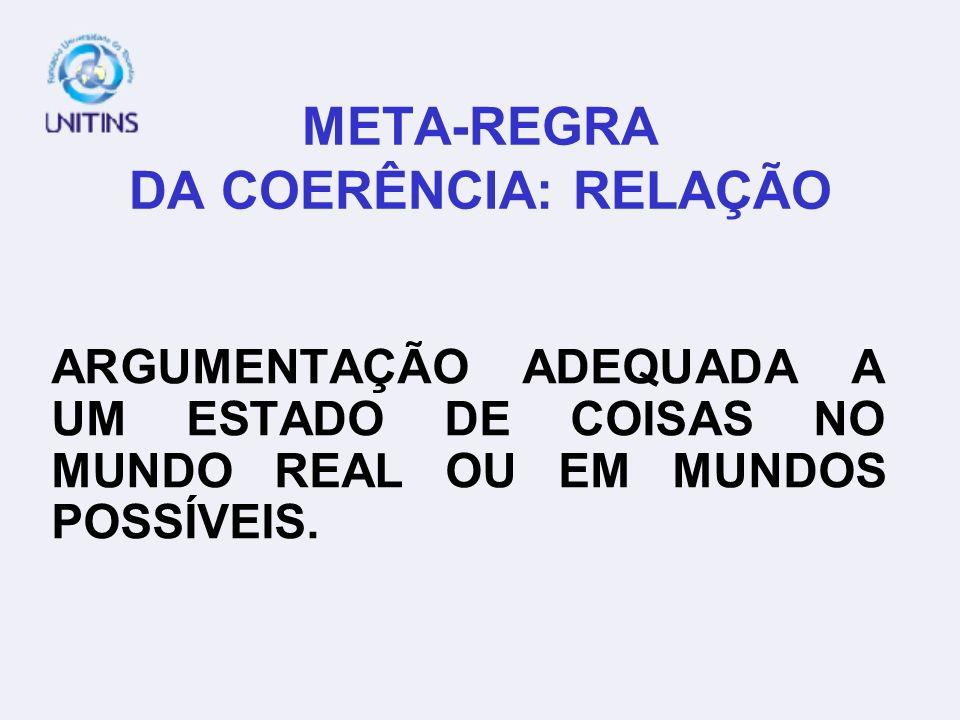 META-REGRA DA COERÊNCIA: RELAÇÃO O MUNICÍPIO DE SÃO JOSÉ DO RIO PRETO ABRANGE UMA REGIÃO IMENSA QUE É COMPOSTA POR VÁRIOS ESTADOS LIMÍTROFES QUE OCUPA