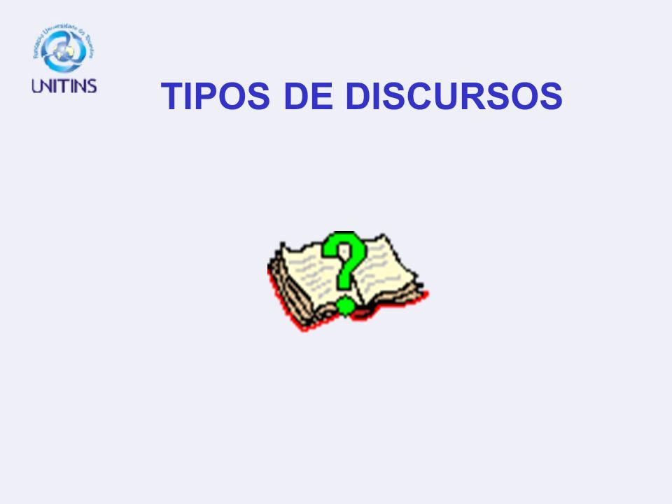 TÓPICOS DA AULA TIPOS DE DISCURSOS (INTRODUÇÃO); 1. ARGUMENTAÇÃO E FUNDAMENTAÇÃO; 2. PROGRESSÃO DISCURSIVA E COERÊNCIA; 3. TIPOS (FORMAS) DE ARGUMENTO