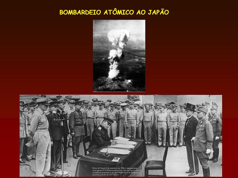 BOMBARDEIO ATÔMICO AO JAPÃO