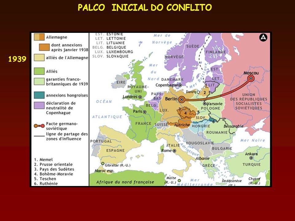 PALCO INICIAL DO CONFLITO 1939