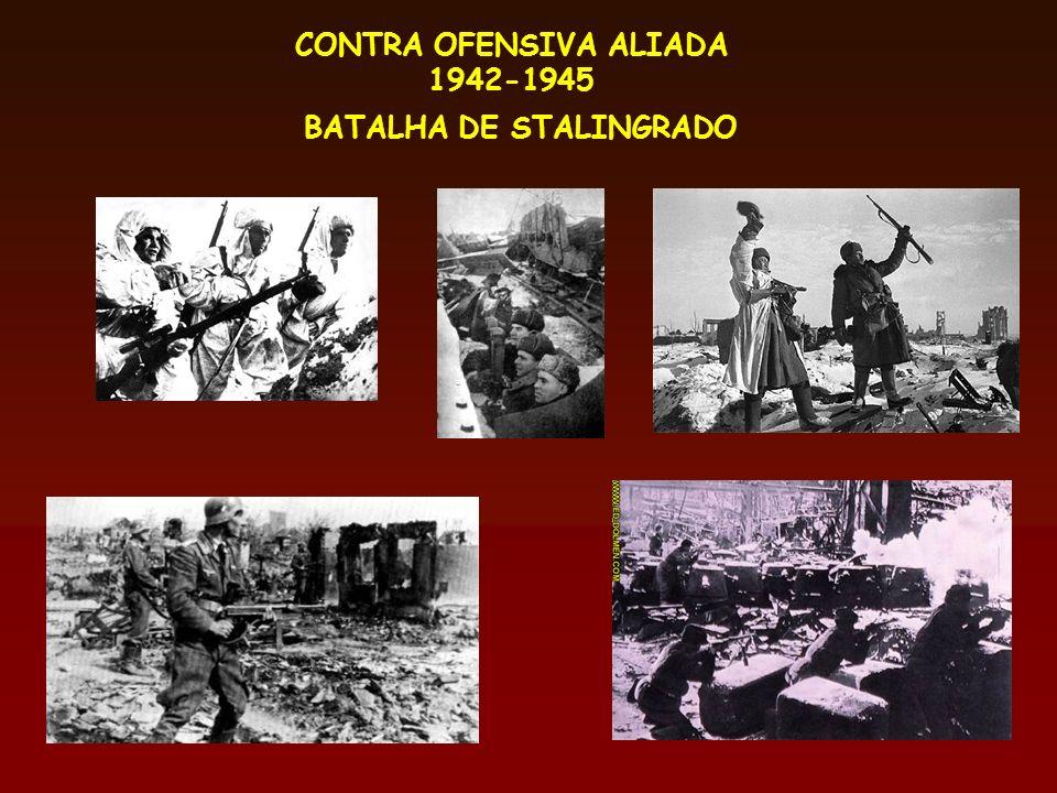 CONTRA OFENSIVA ALIADA 1942-1945 BATALHA DE STALINGRADO