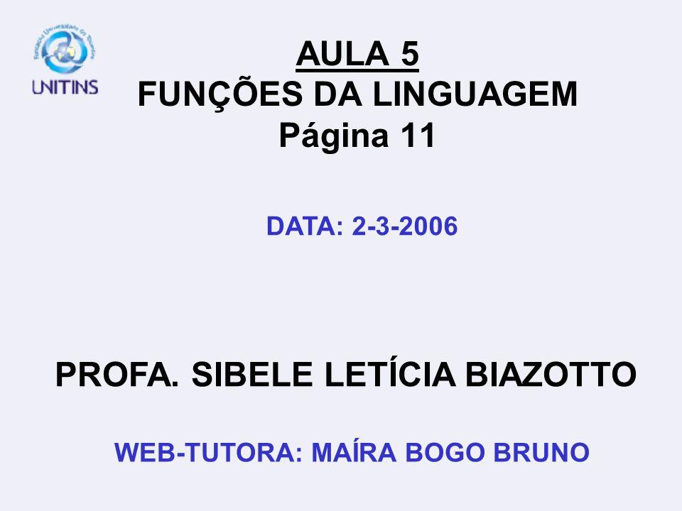 FUNÇÃO METALINGÜÍSTICA EX.: ART.231.