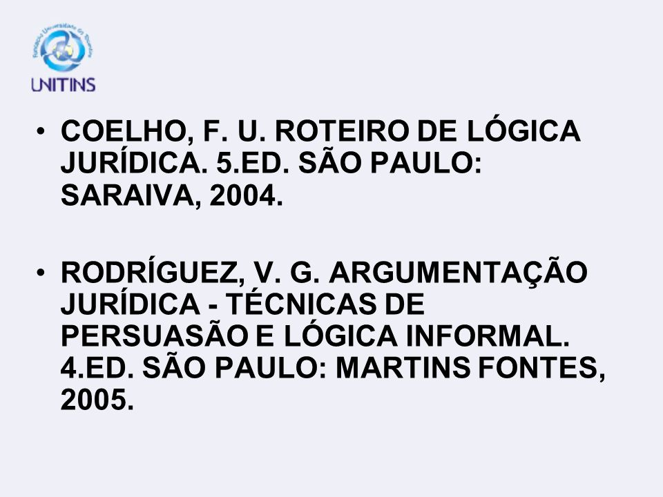 ABREU, A. S. CURSO DE REDAÇÃO. 12.ED. SÃO PAULO: ÁTICA, 2004. ANDRADE, M. M. DE; HENRIQUES, A. LÍNGUA PORTUGUESA: NOÇÕES BÁSICAS PARA CURSOS SUPERIORE