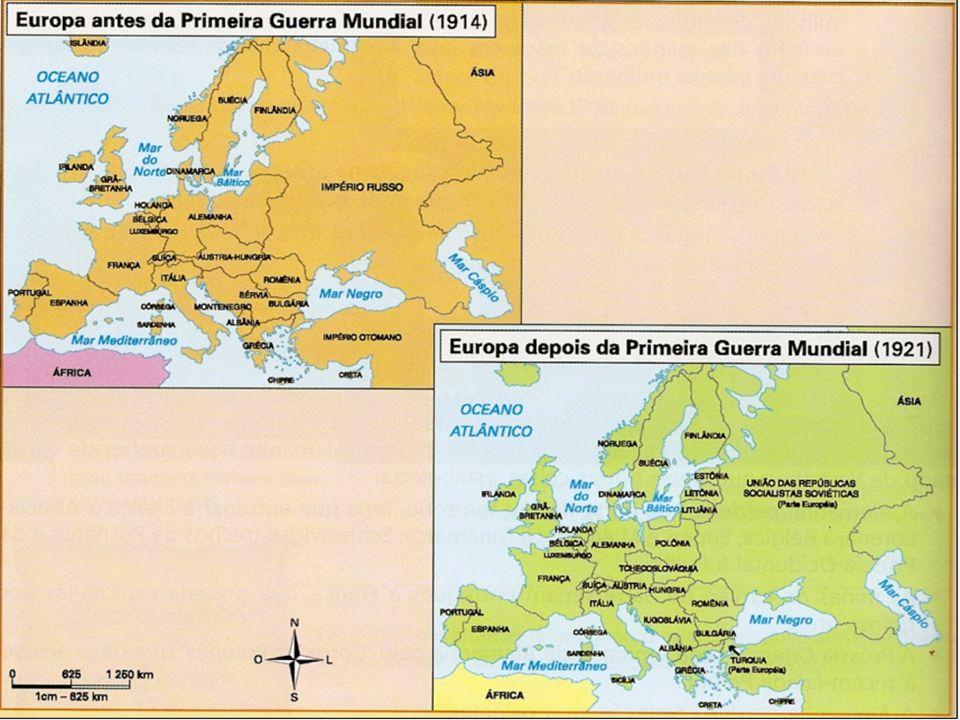 A Europa depois da guerra