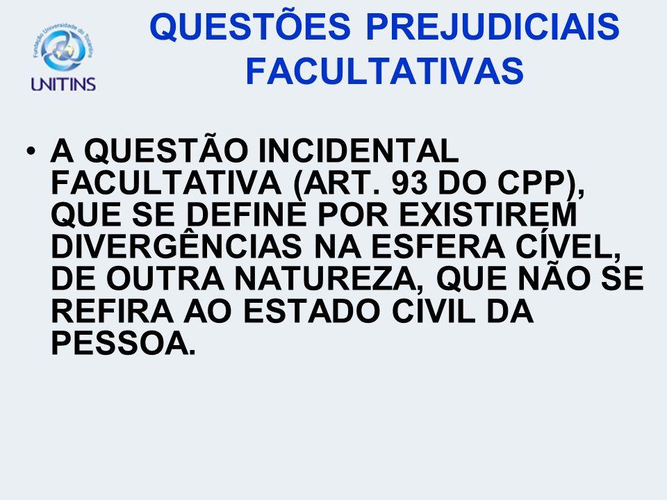 EXCEÇÕES (ARTS.95 A 111 DO CPP); AS INCOMPATIBILIDADES E IMPEDIMENTOS (ARTS.