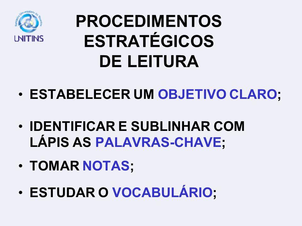 COM ATENÇÃO SUBLINHANDO OBJETIVO CORRIGINDO SEM COMPROMETIMENTO ETC.