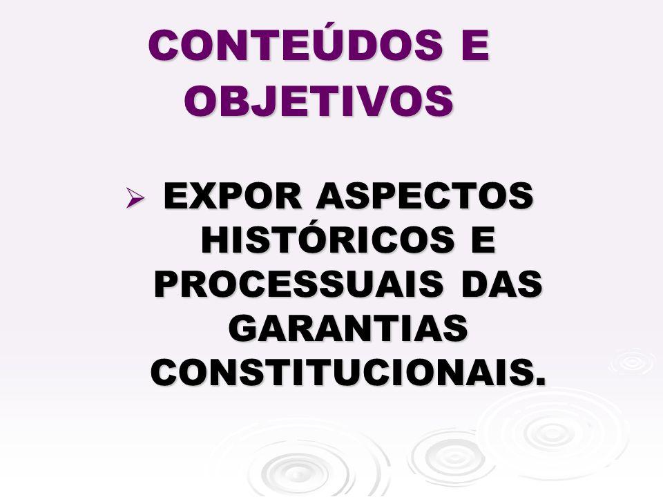 SURGE NA CONSTITUIÇÃO DE 1934, ART.113, n ° 33 SURGE NA CONSTITUIÇÃO DE 1934, ART.