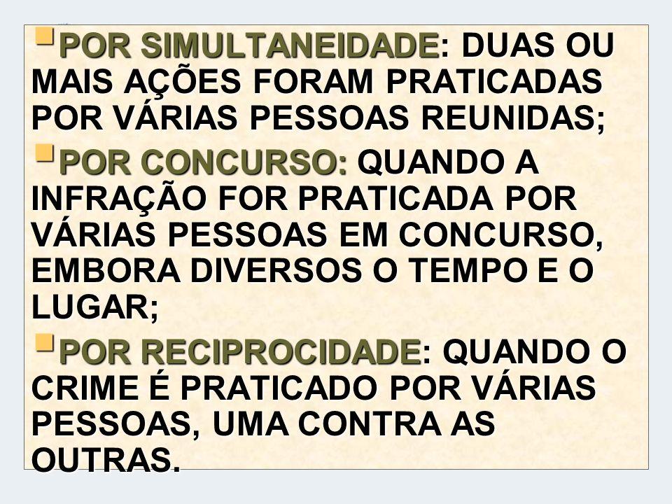 CONEXÃO MATERIAL (INCISO, II, DO ART.