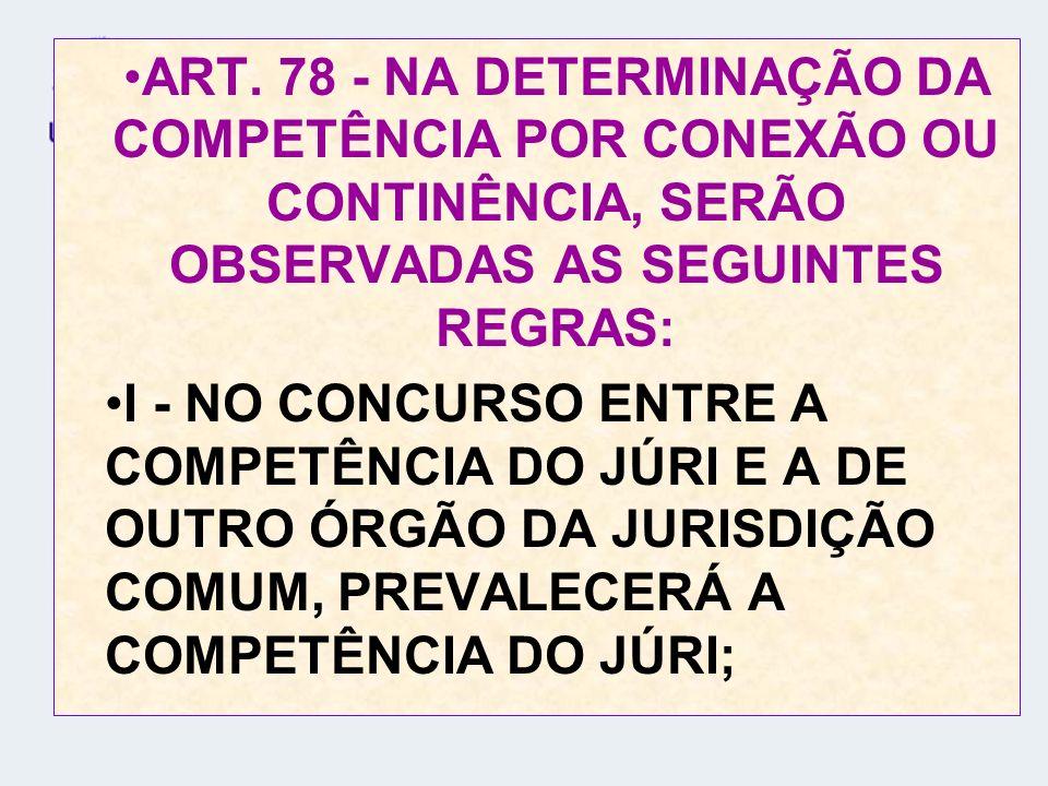 II - NO CONCURSO DE JURISDIÇÕES DA MESMA CATEGORIA: A) PREPONDERARÁ A DO LUGAR DA INFRAÇÃO, À QUAL FOR COMINADA A PENA MAIS GRAVE;