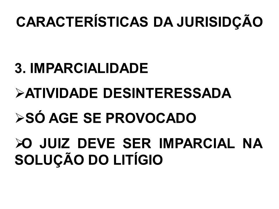 CARACTERÍSTICAS DA JURISIDÇÃO 4.