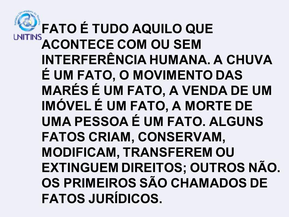 NA PETIÇÃO INICIAL SÃO DESCRITOS FATOS GERAIS E FATOS JURÍDICOS.