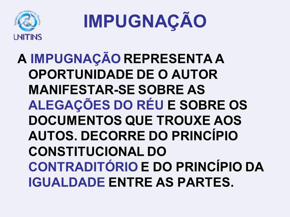 TEMA 5 – PRODUÇÃO TEXTUAL JURÍDICA II PÁGINA 48 IMPUGNAÇÃO DECISÃO SANEADORA