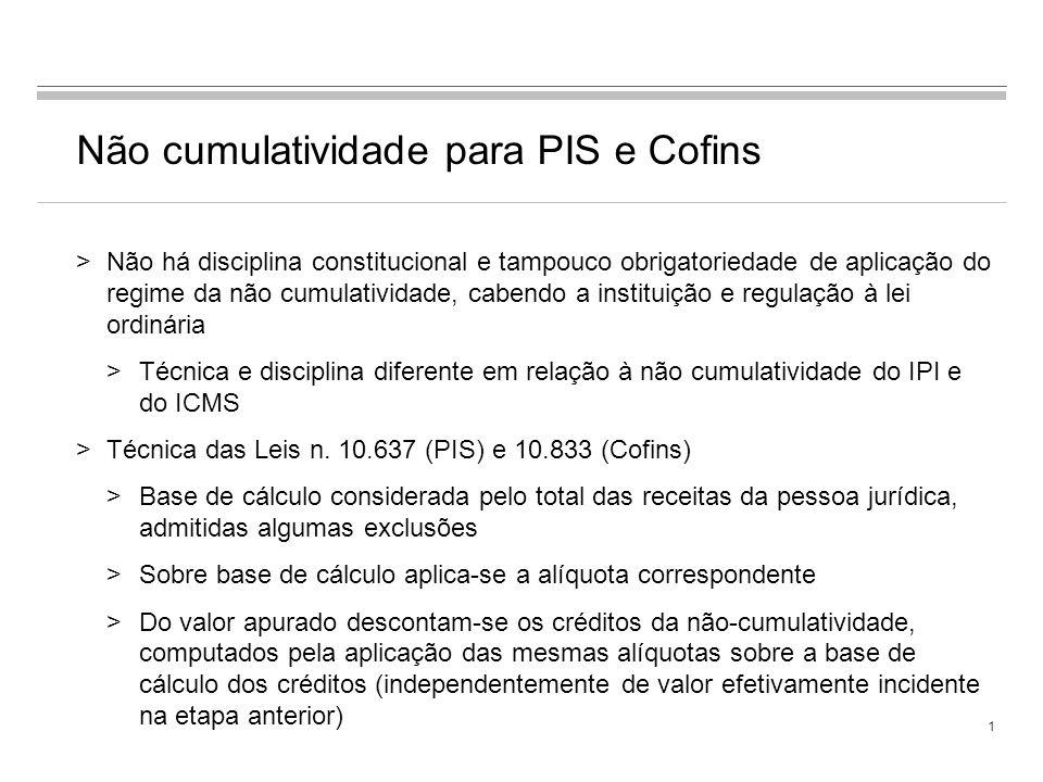 Gustavo Lian Haddad Novembro 2009 Conceito de Insumos para fins de apuração de créditos de PIS e Cofins no regime não cumulativo – Impactos práticos