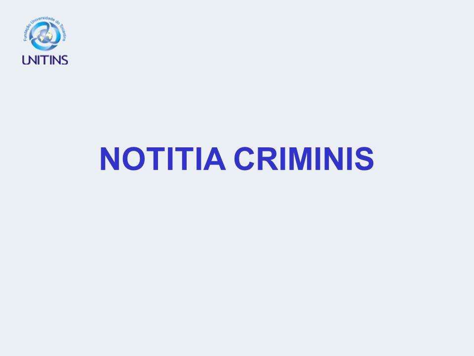 NOTITIA CRIMINIS
