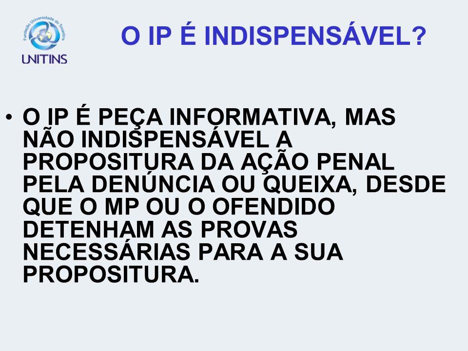 INSTAURAÇÃO DO INQUÉRITO POLICIAL EM CASO DE AÇÃO PENAL PRIVADA