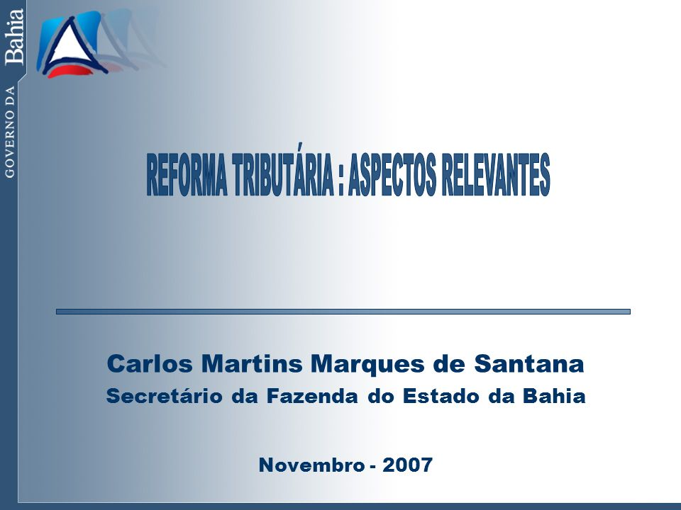 Principais Distorções dos Tributos sobre Bens e Serviços COMPLEXIDADE MULTIPLICIDADE DE LEGISLAÇÕES E COMPETÊNCIAS TRIBUTÁRIAS - UNIÃO: PIS, COFINS, IPI, CIDE-COMBUSTÍVEIS - ESTADOS: ICMS - MUNICÍPIOS: ISS MULTIPLICIDADE DE ALÍQUOTAS E BASES DE CÁLCULO APLICÁVEIS AOS DIVERSOS TRIBUTOS INEXISTÊNCIA DE NEUTRALIDADE NA ALOCAÇÃO DE INVESTIMENTOS INCIDÊNCIAS CUMULATIVAS