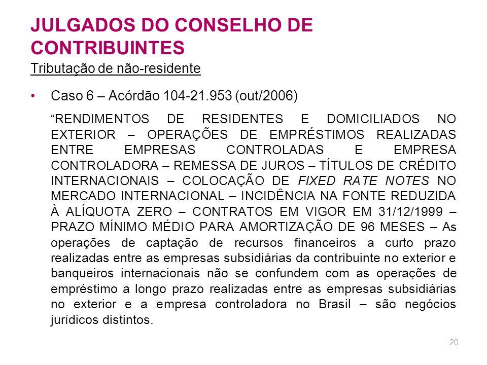 19 JULGADOS DO CONSELHO DE CONTRIBUINTES Caso 5 - Acórdão nº 106-14.244 (cont.) MULTA QUALIFICADA DE OFÍCIO - Para que a multa de ofício qualificada n