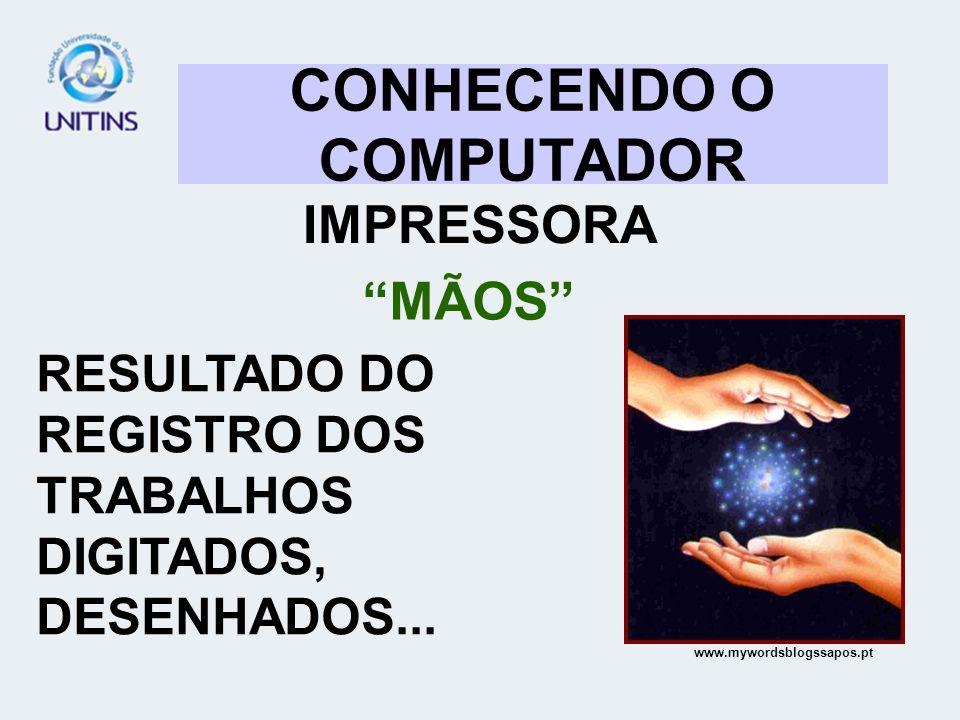 CONHECENDO O COMPUTADOR IMPRESSORA MÃOS RESULTADO DO REGISTRO DOS TRABALHOS DIGITADOS, DESENHADOS... www.mywordsblogssapos.pt