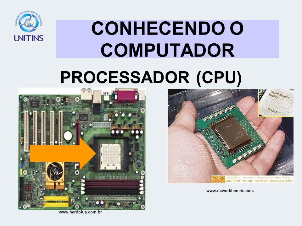 CONHECENDO O COMPUTADOR GABINETE TÓRAX LOCAL DESTINADO PARA ABRIGAR OS COMPONENTES INTERNOS DO COMPUTADOR www.