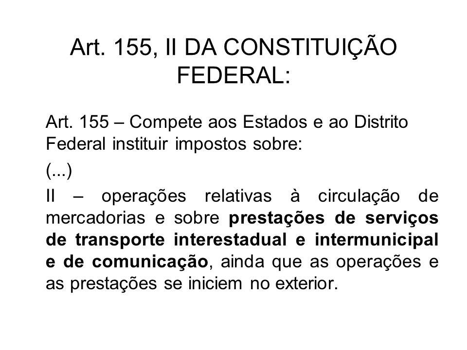 Exportação de serviços LC 116/2003: Art.