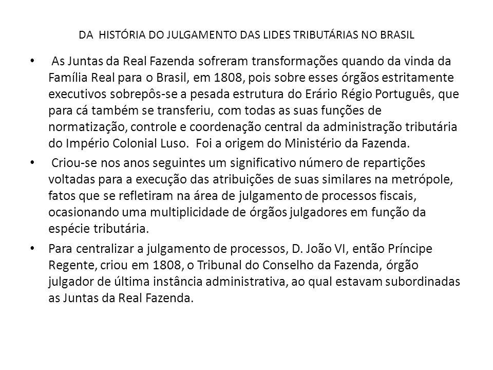 CARF informalidade do processo administrativo fiscal.