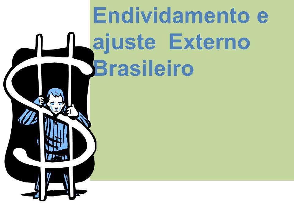 Endividamento e ajuste Externo Brasileiro