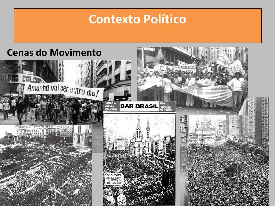 Contexto Político Cenas do Movimento