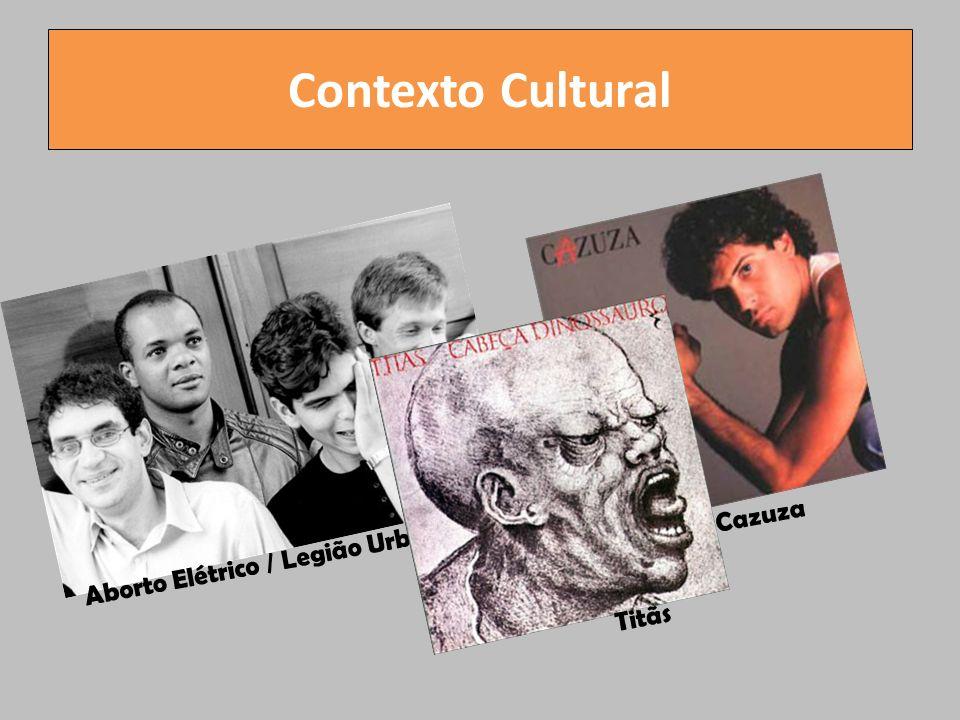 Contexto Cultural Aborto Elétrico / Legião Urbana Cazuza Titãs