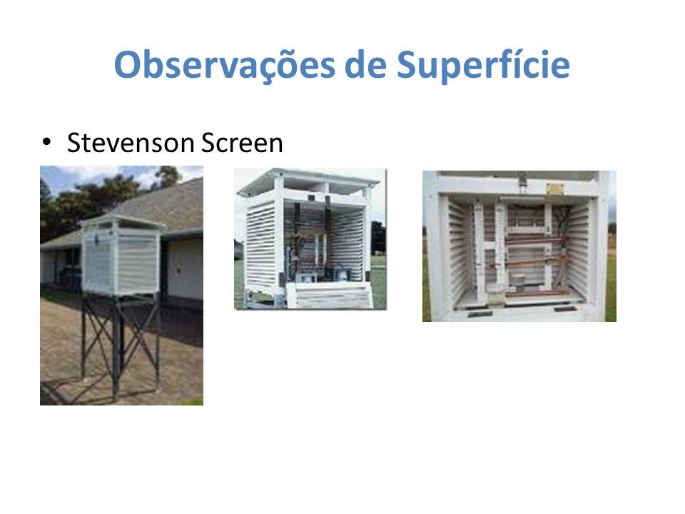 Observações de Superfície Stevenson Screen