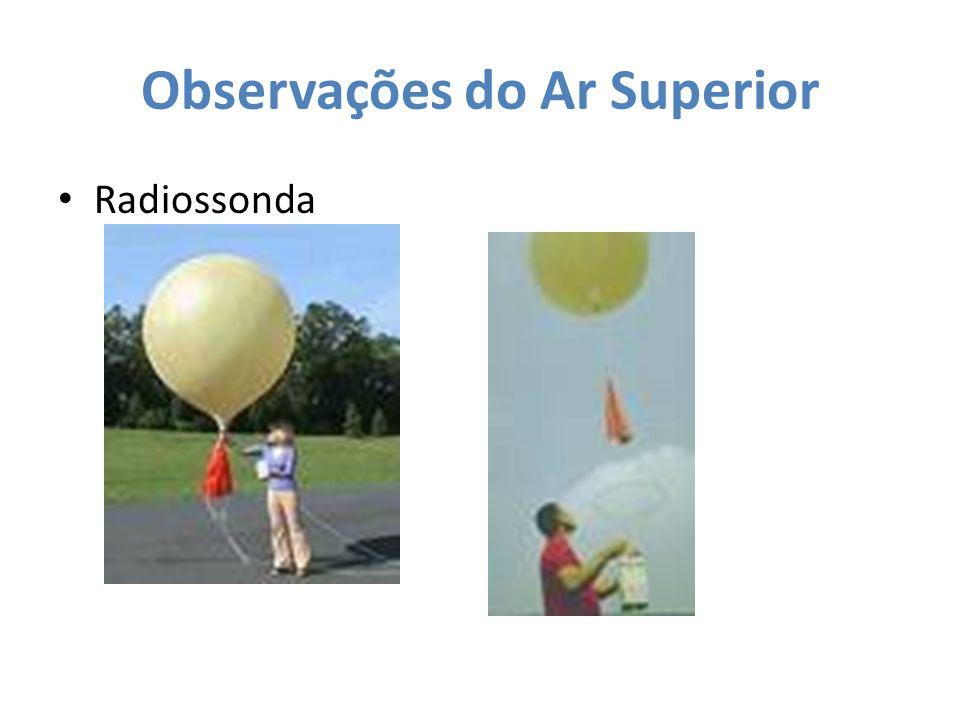 Observações do Ar Superior Radiossonda