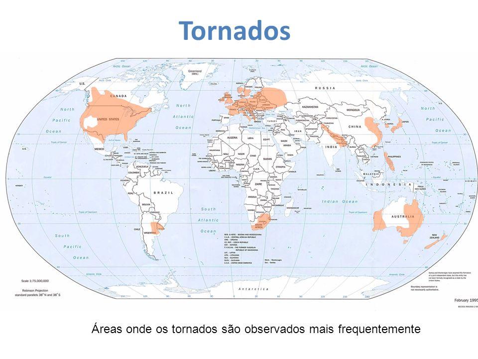 Um tornado muitas vezes começa em uma forte tempestade chamada supercélula.
