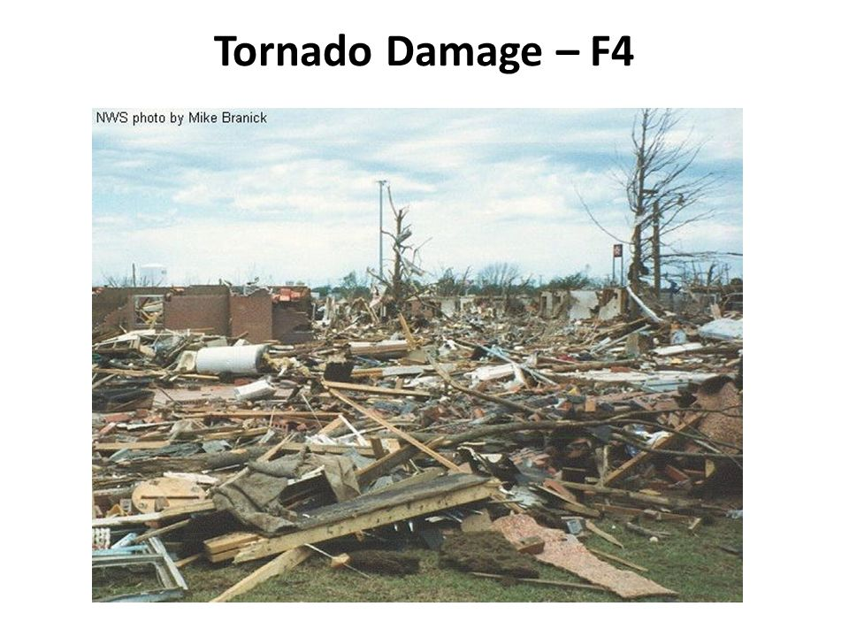 Tornado Damage – F5