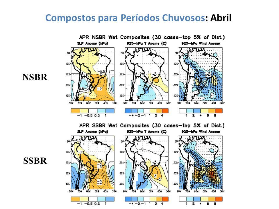 Compostos para Períodos Chuvosos: Abril NSBR SSBR