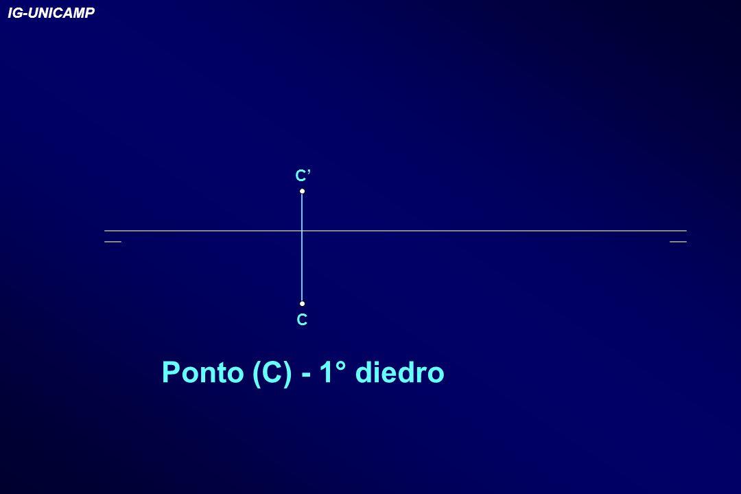 C C Ponto (C) - 1° diedro IG-UNICAMP