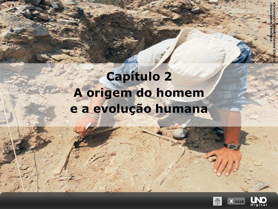 X SAIR PASQUALE SORRENTINO/ SCIENCE PHOTO LIBRARY/LATINSTOCK Capítulo 2 A origem do homem e a evolução humana