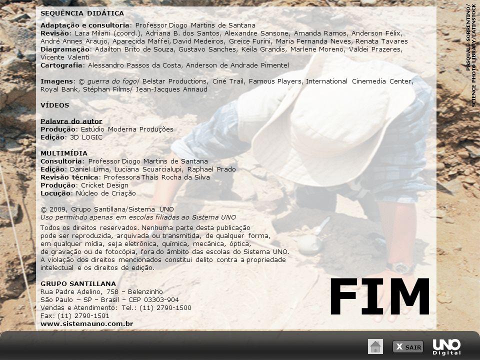 SEQUÊNCIA DIDÁTICA Adaptação e consultoria: Professor Diogo Martins de Santana Revisão: Lara Milani (coord.), Adriana B. dos Santos, Alexandre Sansone
