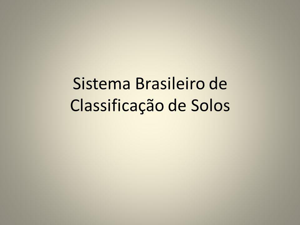 Sistema Brasileiro de Classificação de Solos