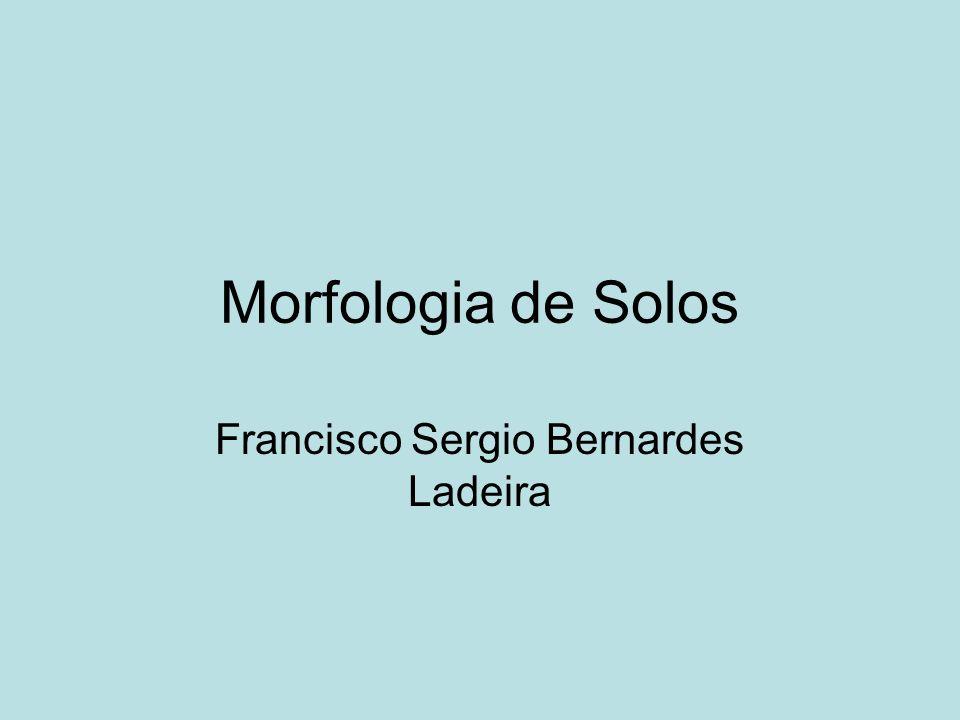 Morfologia de Solos Francisco Sergio Bernardes Ladeira