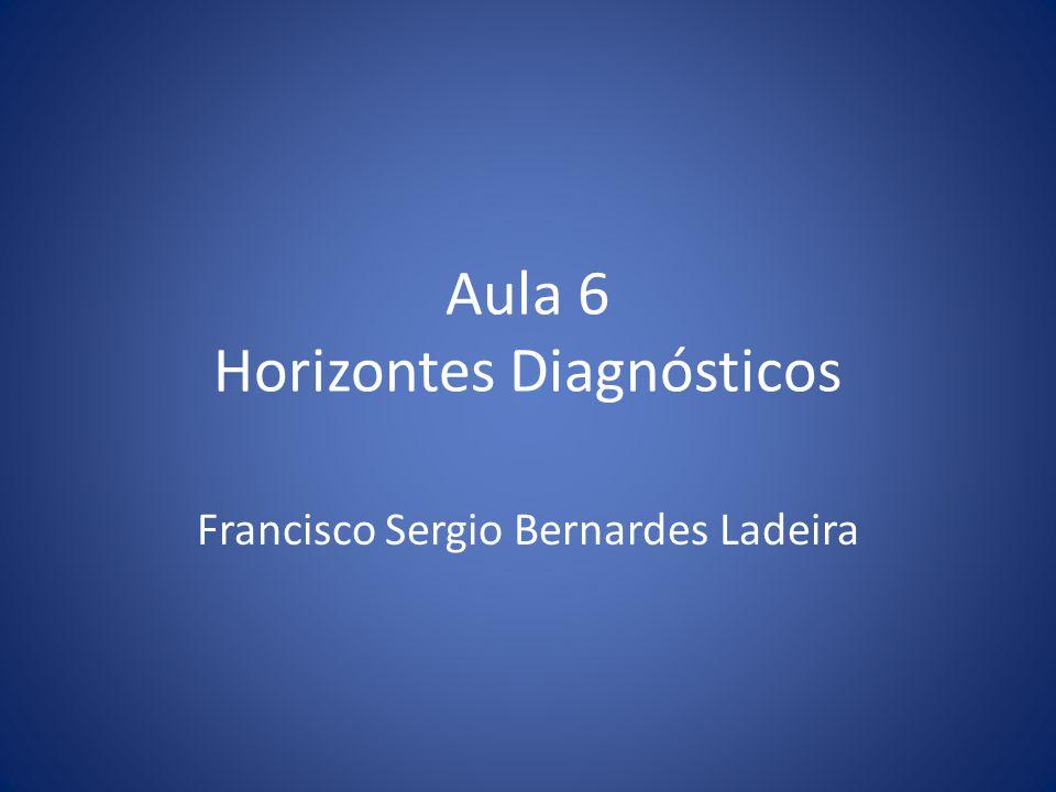 Aula 6 Horizontes Diagnósticos Francisco Sergio Bernardes Ladeira