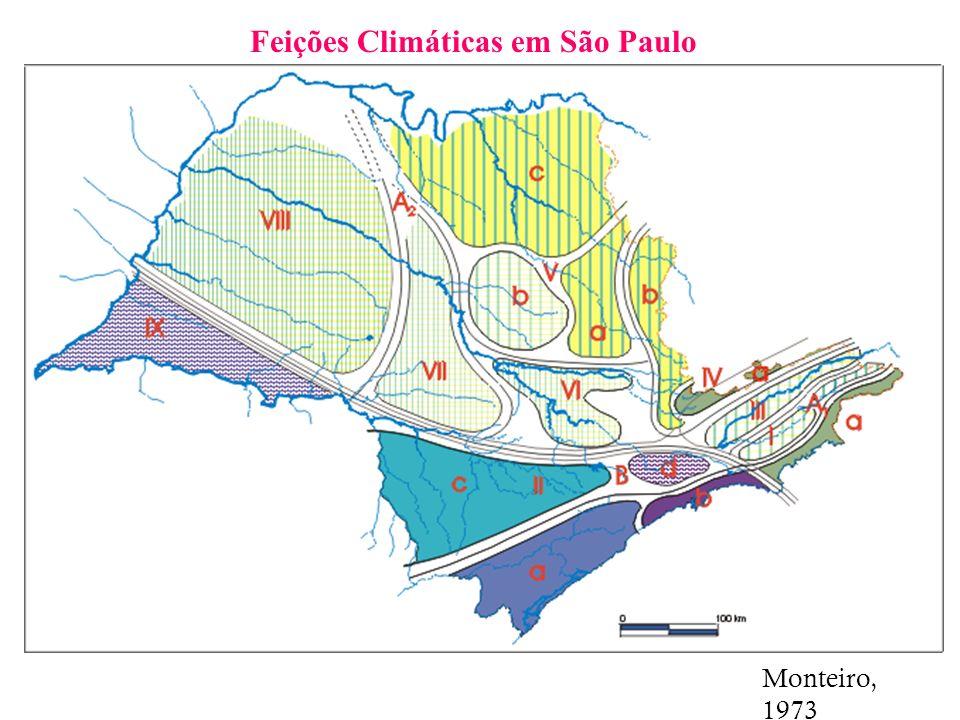 Feições Climáticas em São Paulo Monteiro, 1973