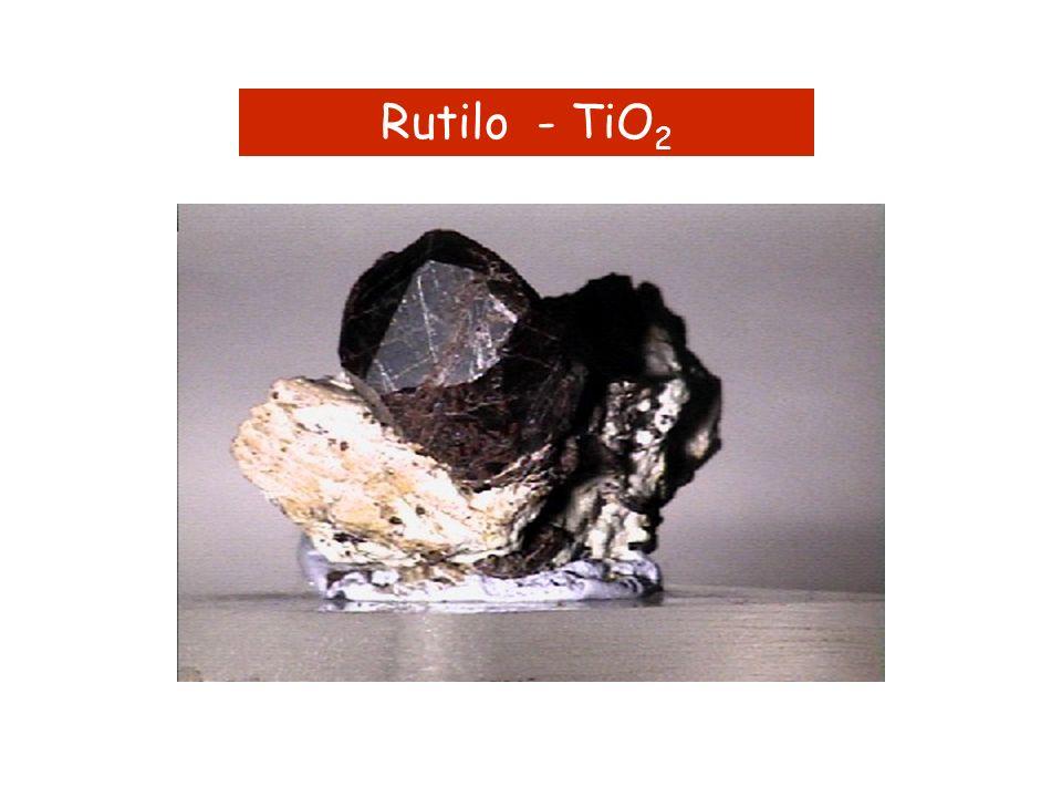 Rutilo - TiO 2